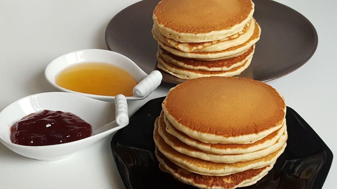 البانكيك باسهل و ارواع طريقة Pancakes Tres Facile Youtube
