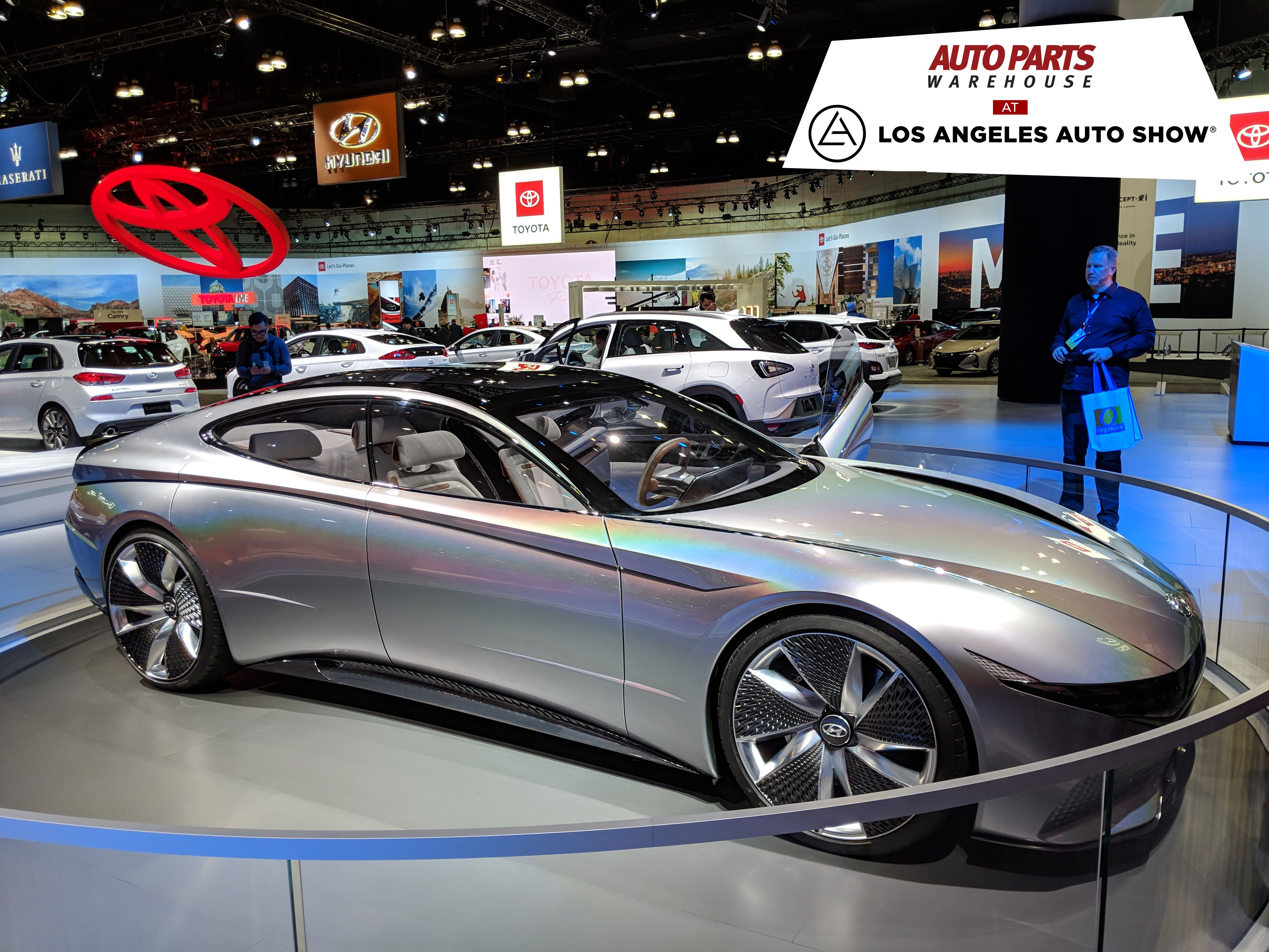 Auto Parts Warehouse Dropped By The Los Angeles Auto Show One Of The Largest Auto Shows In The World Here Are Som Discount Car La Auto Show Auto Parts Online