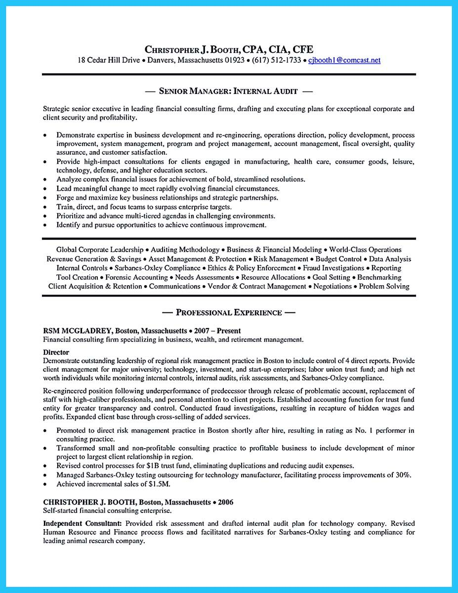 An Audit Resume Is Quite Important To Learn As You Are About To Apply For Job To Be An Auditor Her Resume Cover Letter Examples Cover Letter For Resume Resume