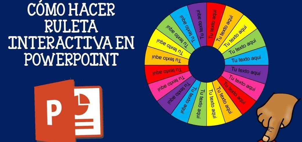 ruleta interactiva para niños