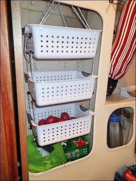 Hanging Produce Baskets