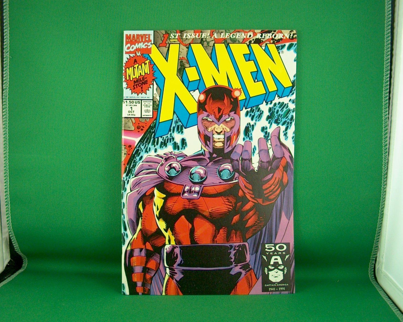 Marvel Comics X Men 1 October 1991 A Legend Reborn In 2020 Comics Marvel Marvel Comics