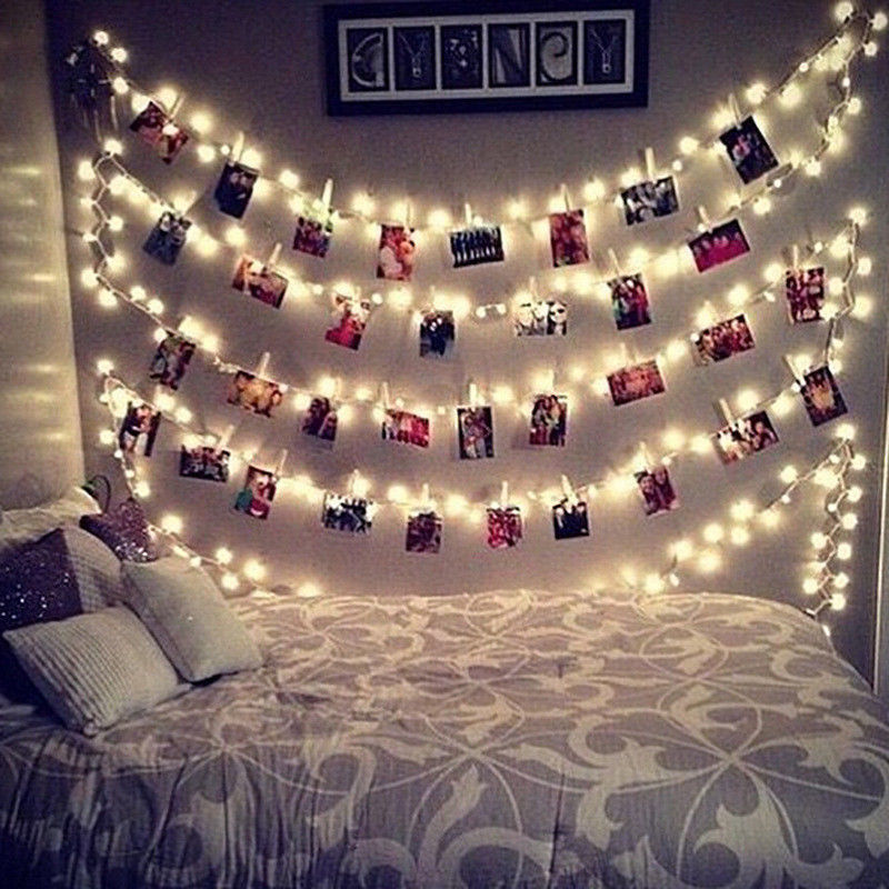 String Lights With Clips $488 Aud  Led Fairy Lights Card Photo Clip String Light Christmas