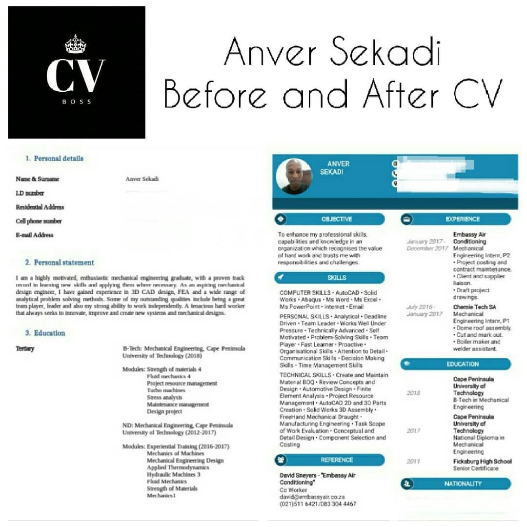 Revamp Your Cv For Only R150 And Get A Cover Letter And 10 Possible Job Interview Questions Free Job Portals Job Interview Questions Job Hunting Job Seeker