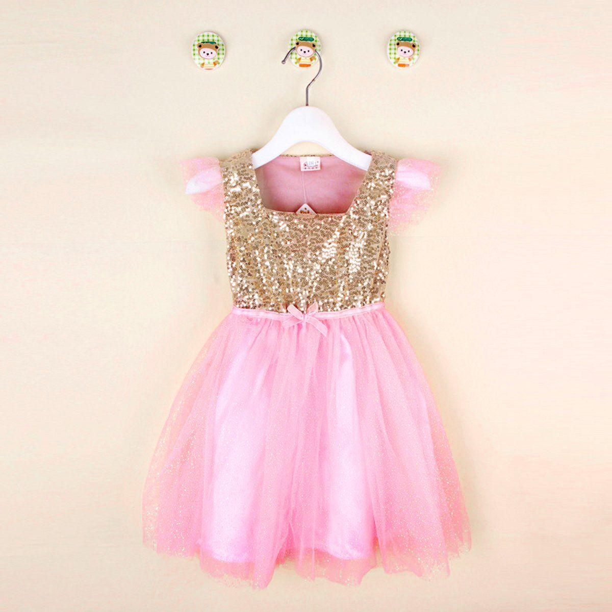 Flower Girls Summer Princess Dress Kids Baby Party Pageant Tutu Dresses Clothes