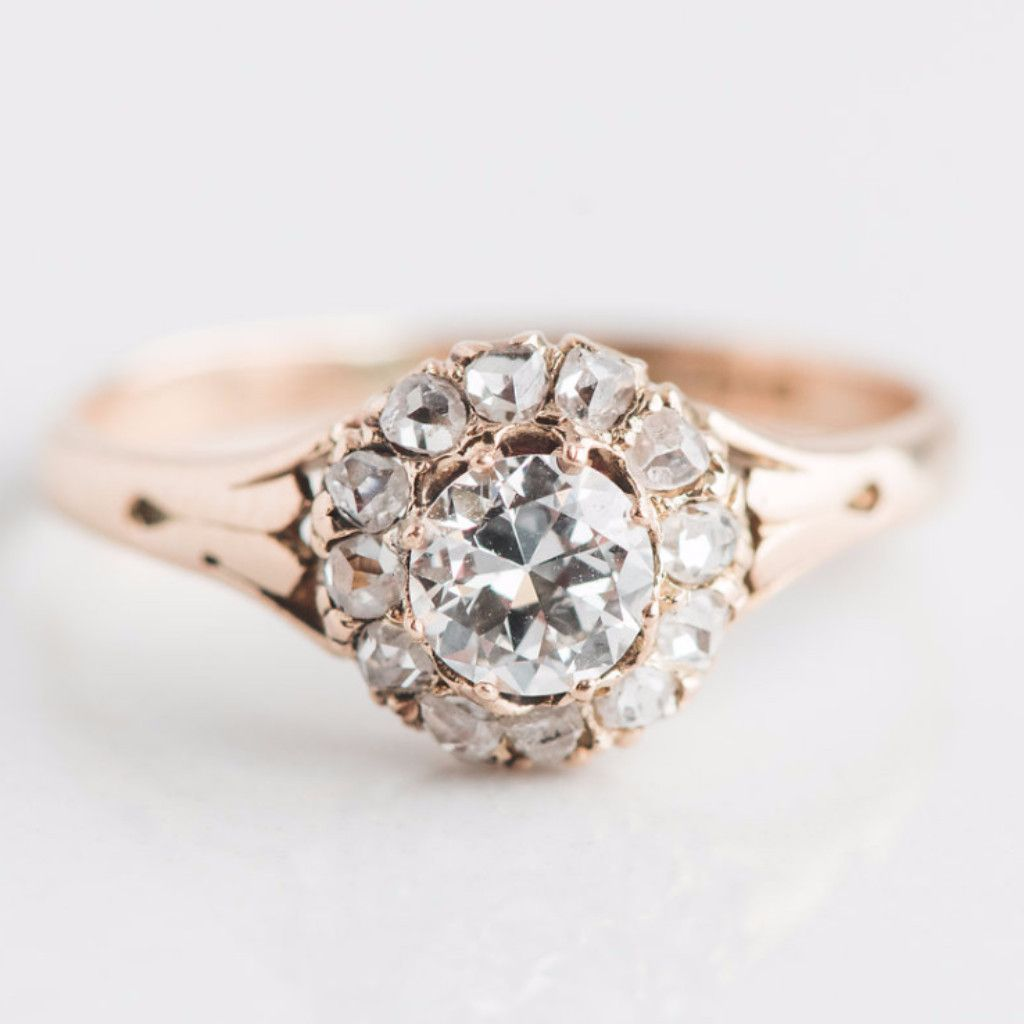 engagement rings carat gold round flowery unique hd images flower wallpaper black with lotus red diamond white cut setting ring