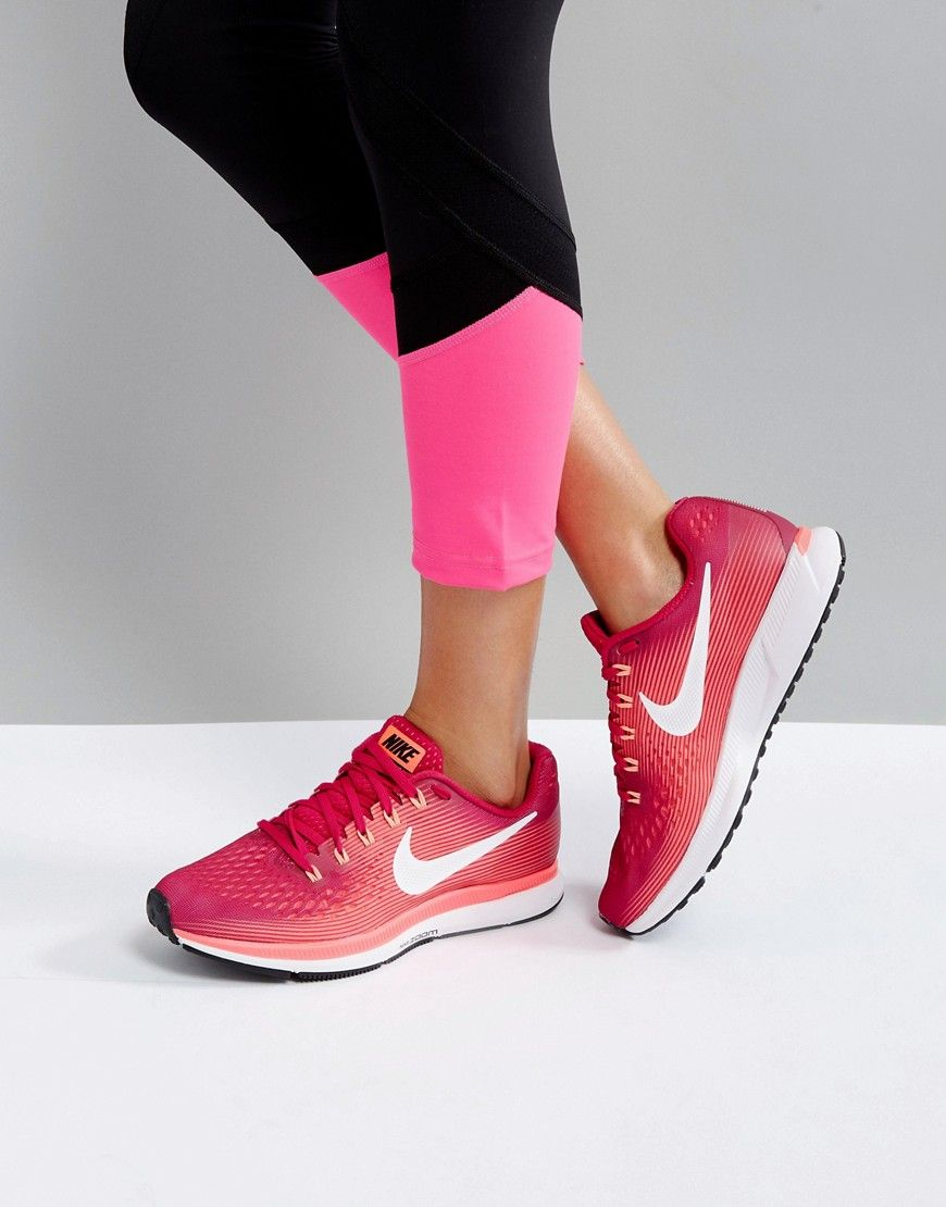 Obediente Enorme Vandalir  Buy it now. Nike Running Air Zoom Pegasus 34 Trainers - Multi. Trainers by  Nike, Mesh upper for lightweight … | Nike running, Zapatillas nike, Precios  de zapatillas