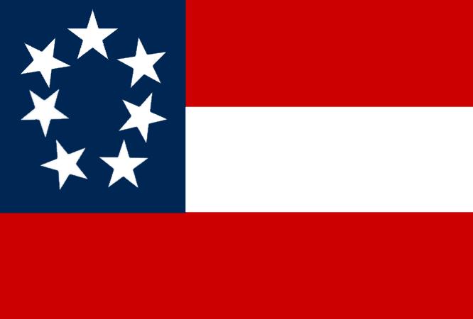 Stars And Bars Ensign Of The Sloop Lida Lida Confederate History