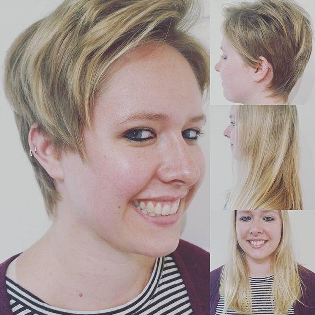 Long to pixie makeover | robbie | Pinterest | Short hair, Long ...