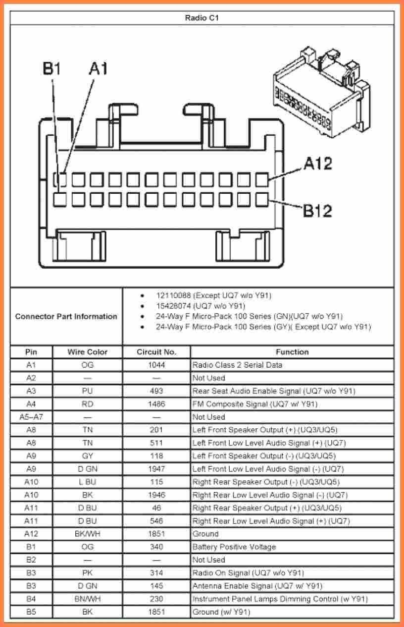 Inspirational 2002 Trailblazer Radio Wiring Diagram in