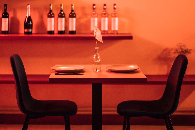 Gallery Of Jess Restaurant Biancoebianca 8 Bar Restaurant Interior Restaurant Interior Design Restaurant Interior
