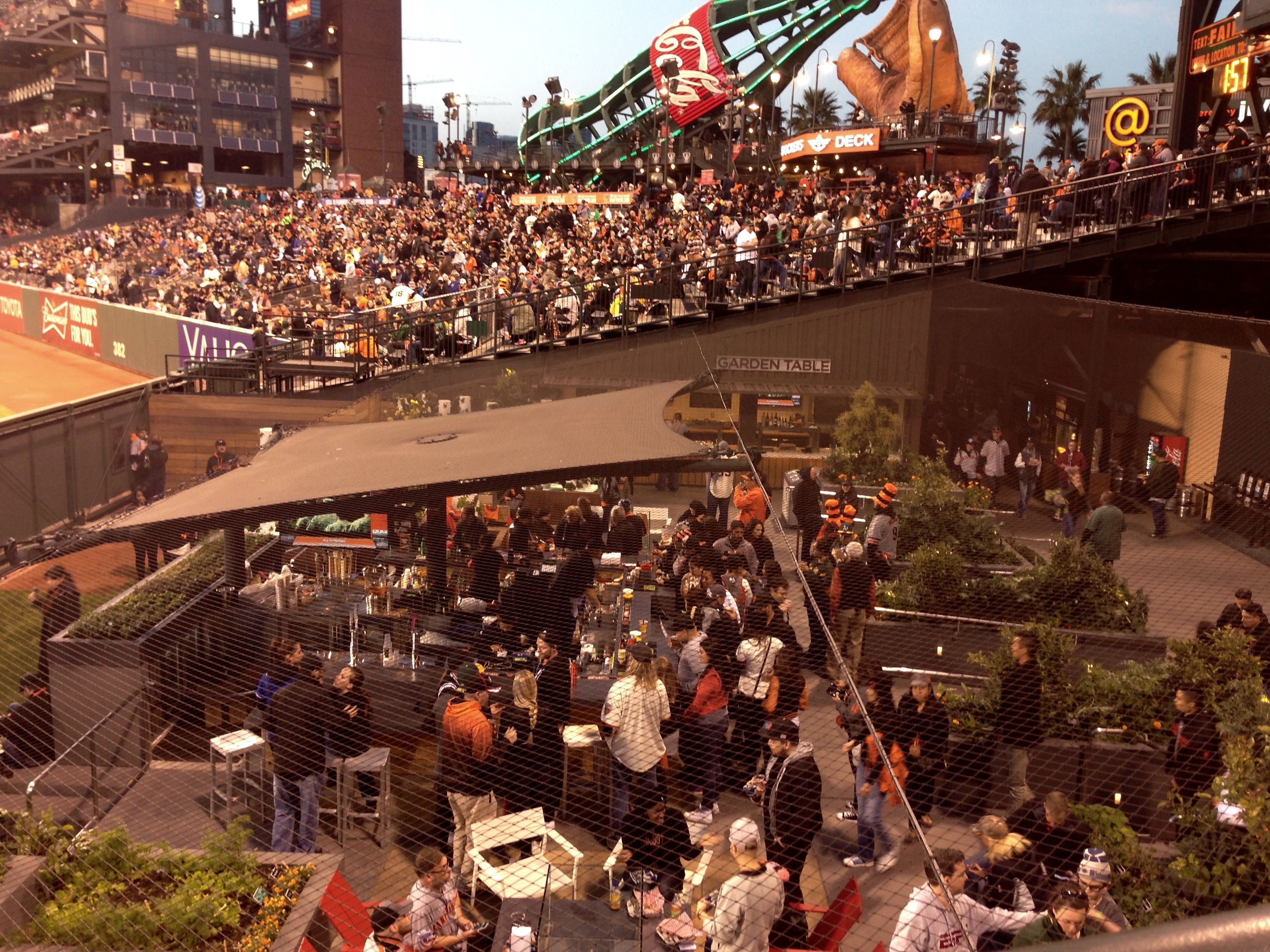 Last week the Garden at AT&T Park was filled with explosive energy ...