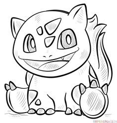 how to draw bulbasaur pokemon step by step drawing tutorials for