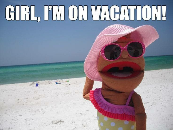 When you're on vacation... Nothing matters! Have you