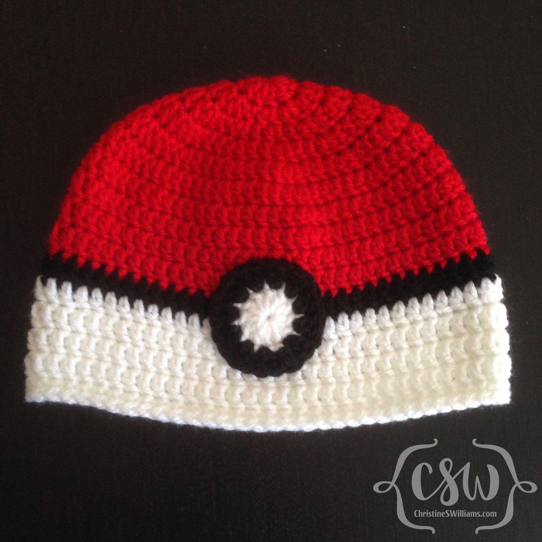 Poké Ball Hat | Pinterest