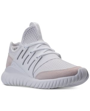 reputable site 5ce30 9e638 adidas Men s Originals Tubular Radial Casual Sneakers from Finish Line -  White 11.5