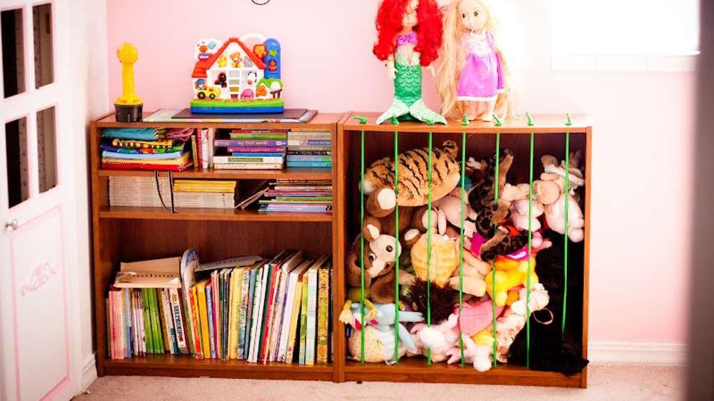Meuble zoo peluches enfants chambre enfant pinterest for Organisation chambre enfant
