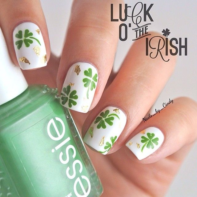 nails_by_cindy St. patrick\'s day #nail #nails #nailart | Nail ...
