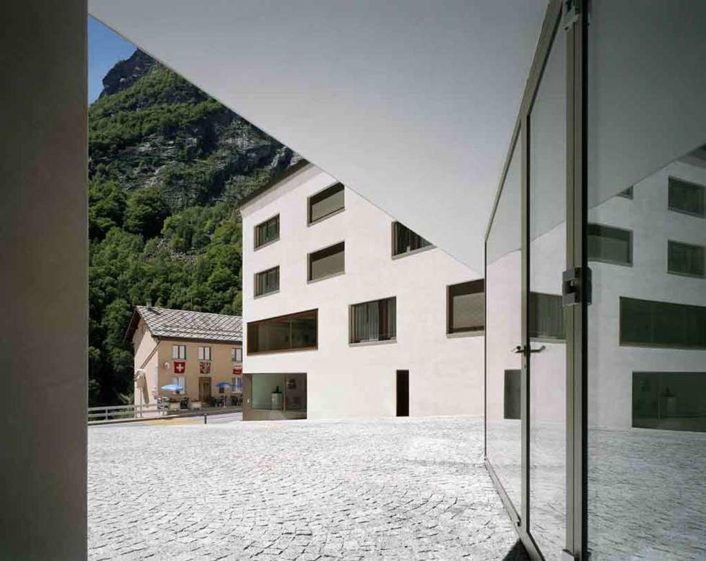 Durrer Linggi Architekten · Wiederaufbau Gemeinde Gondo · Divisare
