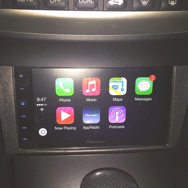 #soundwavecustoms #caraudio #apple #appradio4 #carplay