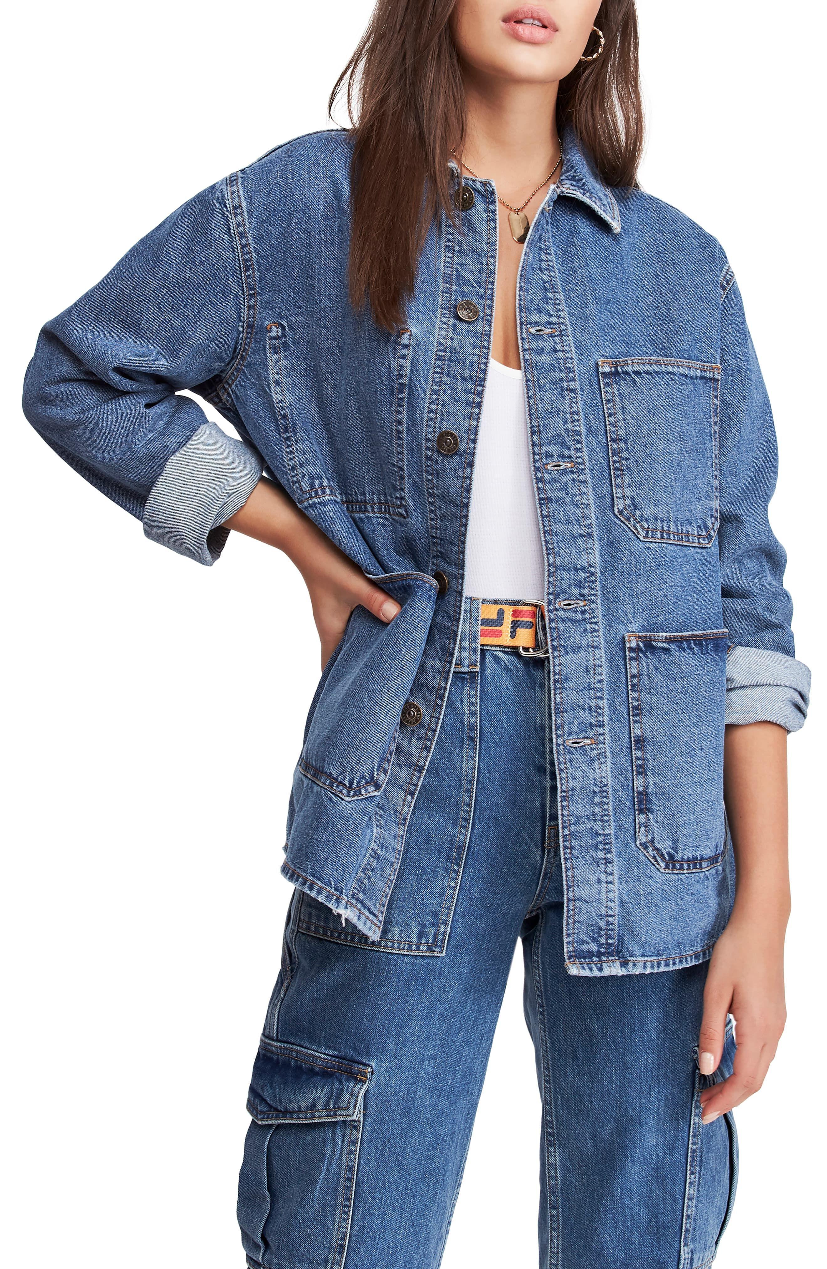 Bdg Urban Outfitters Longline Denim Jacket Nordstrom Denim Jacket Women Longline Denim Jacket Denim Jacket [ 4048 x 2640 Pixel ]