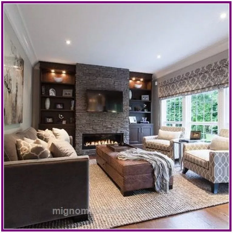 27 Extraordinary Ideas Of Living Room With Fireplace With Images