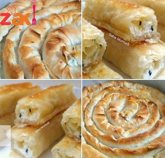 برك تركية 100 طيبة كتييييير بحشوة البطاطا وحشوة الجبن زاكي Syrian Food Recipes Food