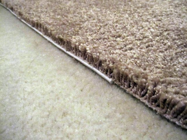 Shannon Makes Stuff How To Edge A Piece Of Carpet Make Rug