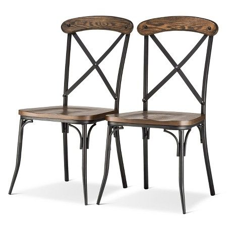 Exceptionnel Bralton Dining Chair   Brown (Set Of   The Industrial Shop™ : Target