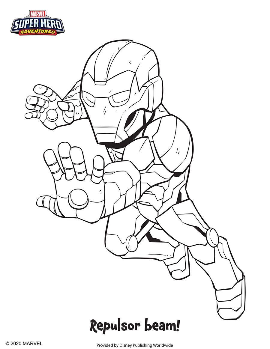 Coloring Fun With Marvel Super Hero Adventures In 2021 Superhero Coloring Pages Super Hero Coloring Pages Marvel Superheroes