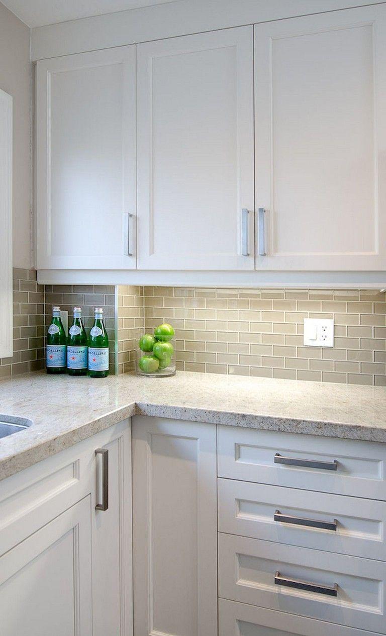 28+ Elegant White Kitchen Design Ideas for Modern Home