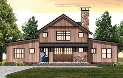 House Plan 8504 00028 Cabin Plan 2 654 Square Feet 5 Bedrooms 3 5 Bathrooms Vacation House Plans Rustic House Plans Modern Farmhouse Plans