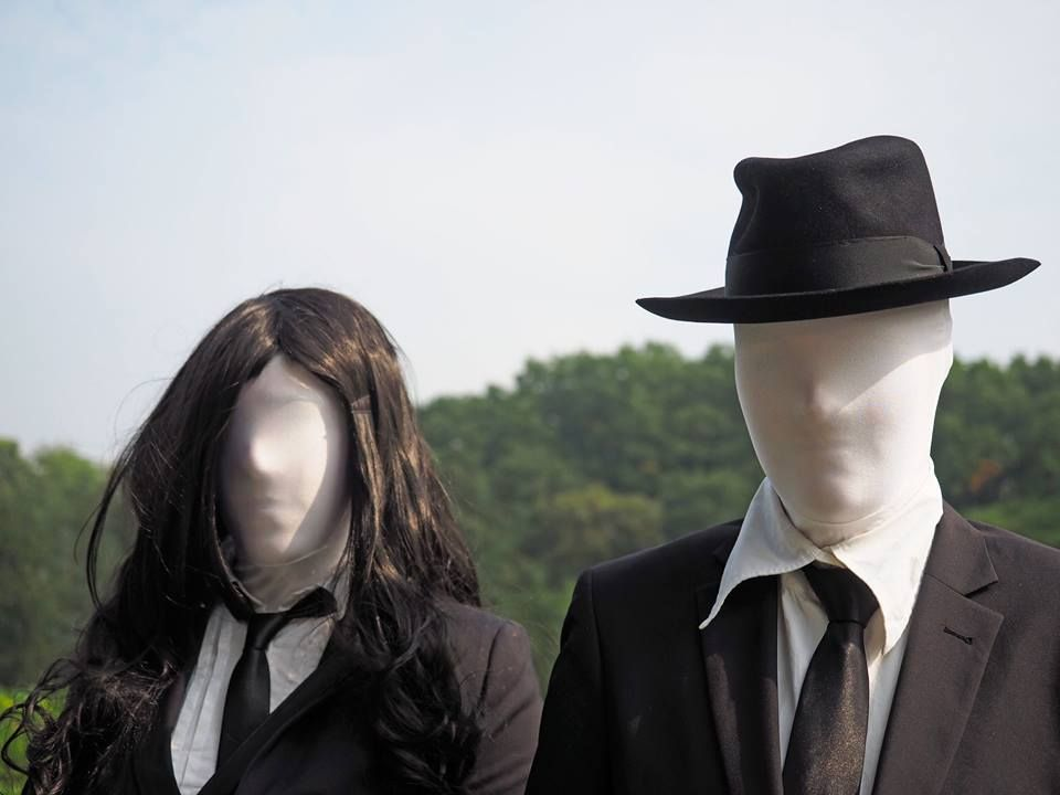Slender man & Slender Woman Elfia Arcen 2014   - https://www.facebook.com/photo.php?fbid=701366479939494&set=a.701364159939726.1073741827.100001984440540&type=3&theater