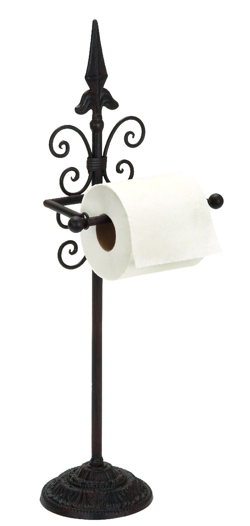 Woodland Imports Free Standing Toilet Paper Holder Free Standing Toilet Paper Holder Toilet Paper Stand Toilet Paper Holder Stand