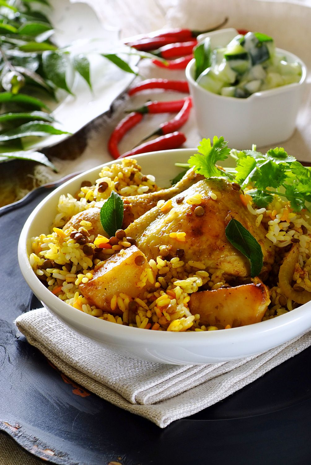 Chicken breyani a wonderful traditional cape dish singing with food forumfinder Image collections