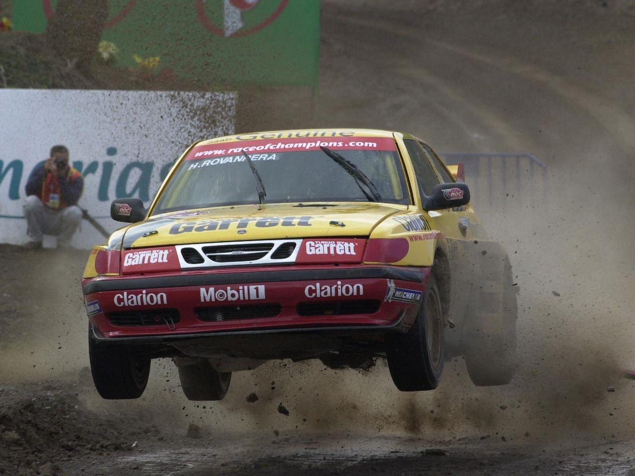 SAAB 9-3 rallycross car