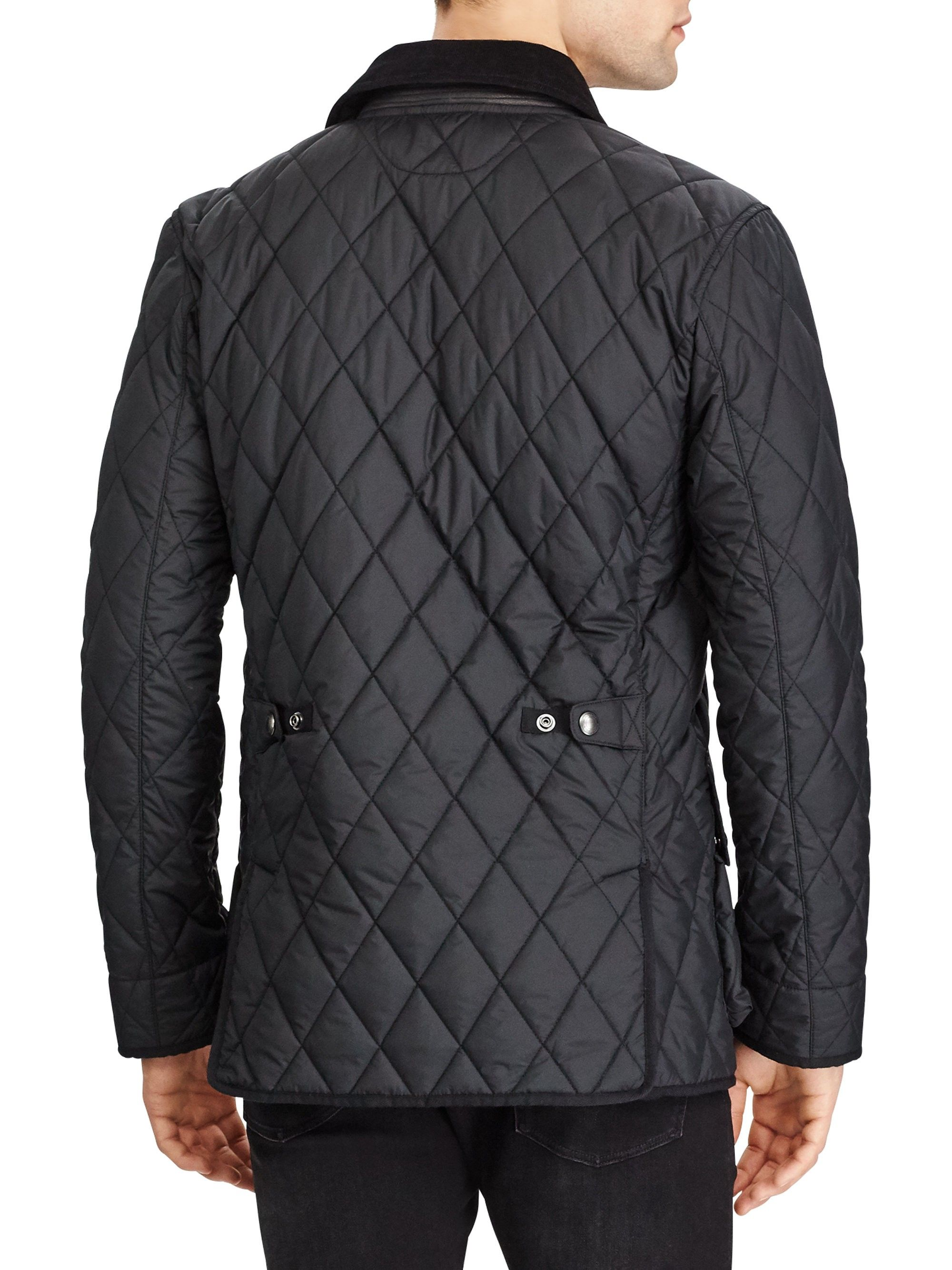 Car Black LargeProducts Coat Matte Xx Lauren Kempton Ralph WEH9DI2