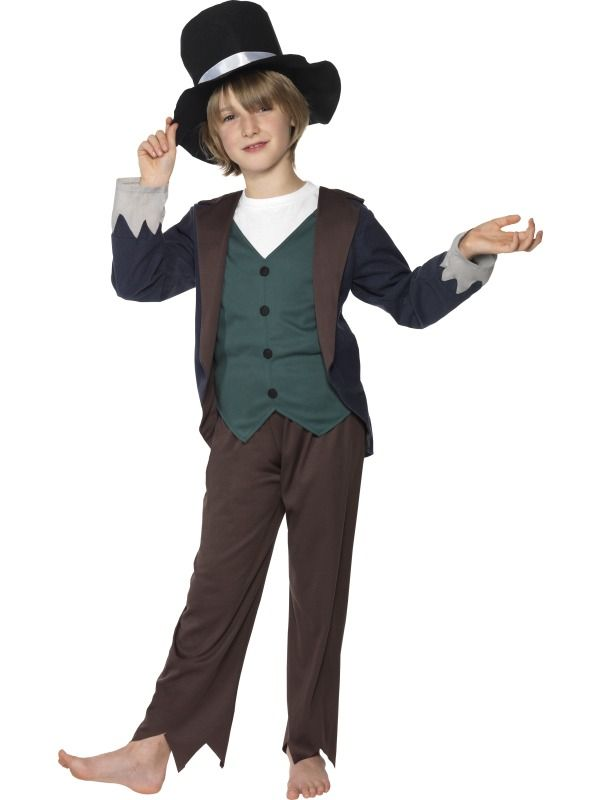Victorian Poor Boy Costume | Costume4U  sc 1 st  Pinterest : victorian kids costumes  - Germanpascual.Com