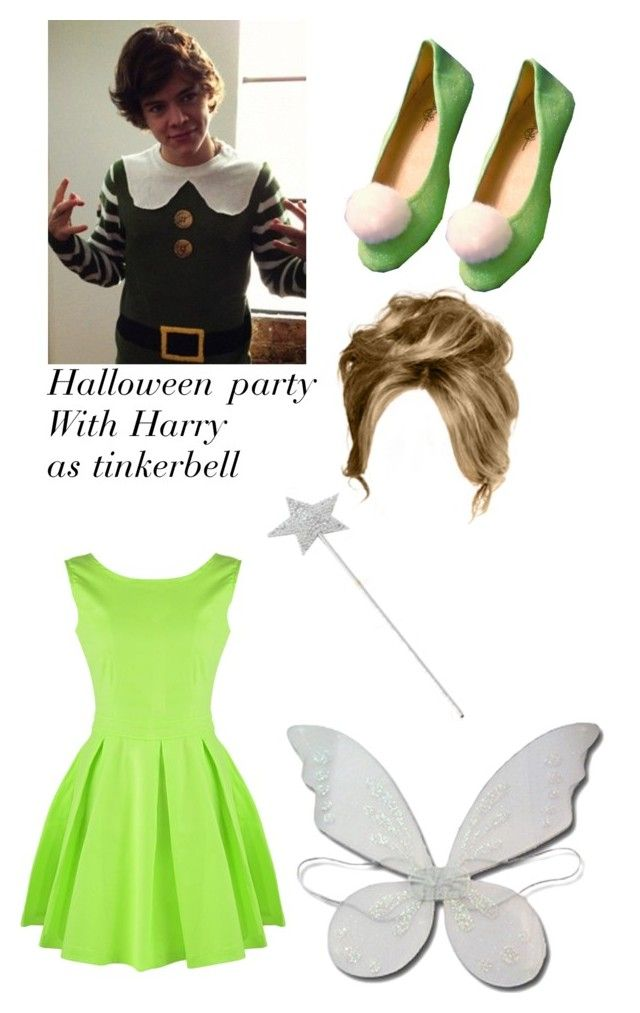 """""""Halloween party with Harry as Tinkerbell"""" by love123456789101112 ❤ liked on Polyvore"""