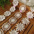 Online Shop Bordado applique branco flor do laço apara rendas requintado para vestido de noiva vestuário acessórios de cabelo DIY Craft|Aliexpress Mobile