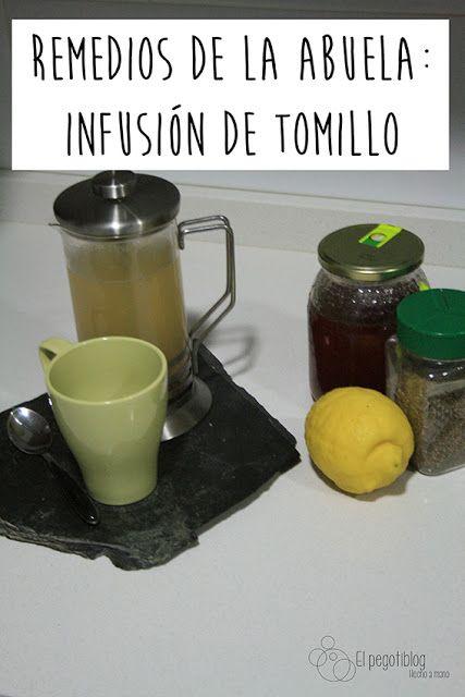 Cómo combatir catarros de forma natural - tos, moco, anginas - natural remedy - thyme and lemon - tomillo y limón