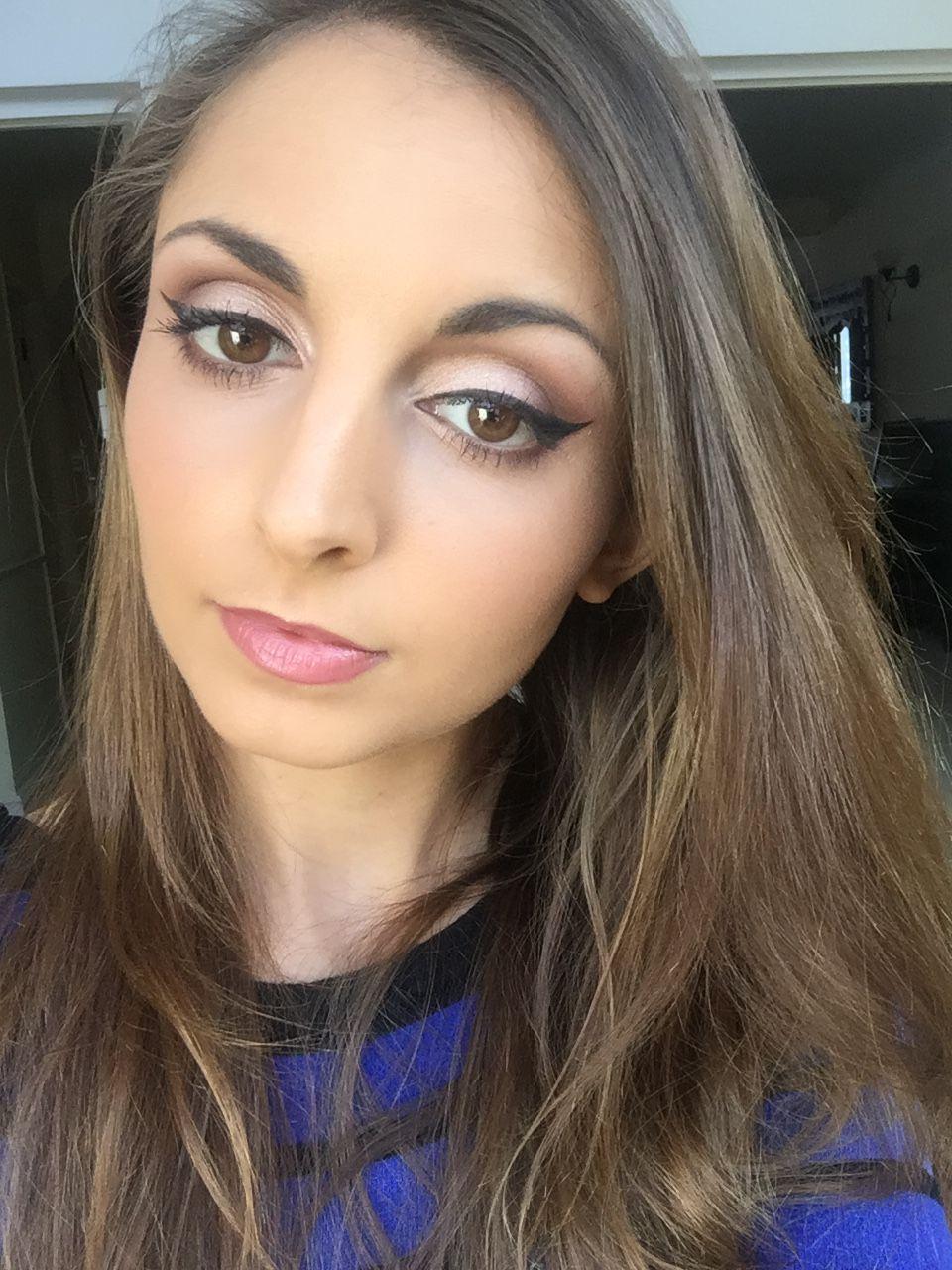 Bridal makeup using MAC eyeshadow in Swiss Chocolate (With