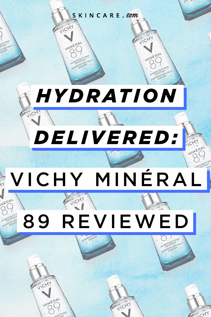 Hydration delivered vichy mineral review hyaluronic acid