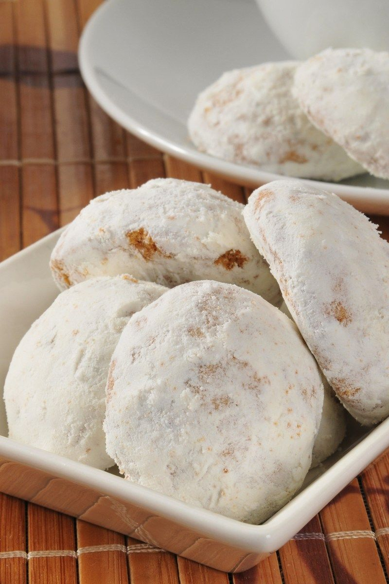 Russian Teacakes Or Mexican Wedding Cookies
