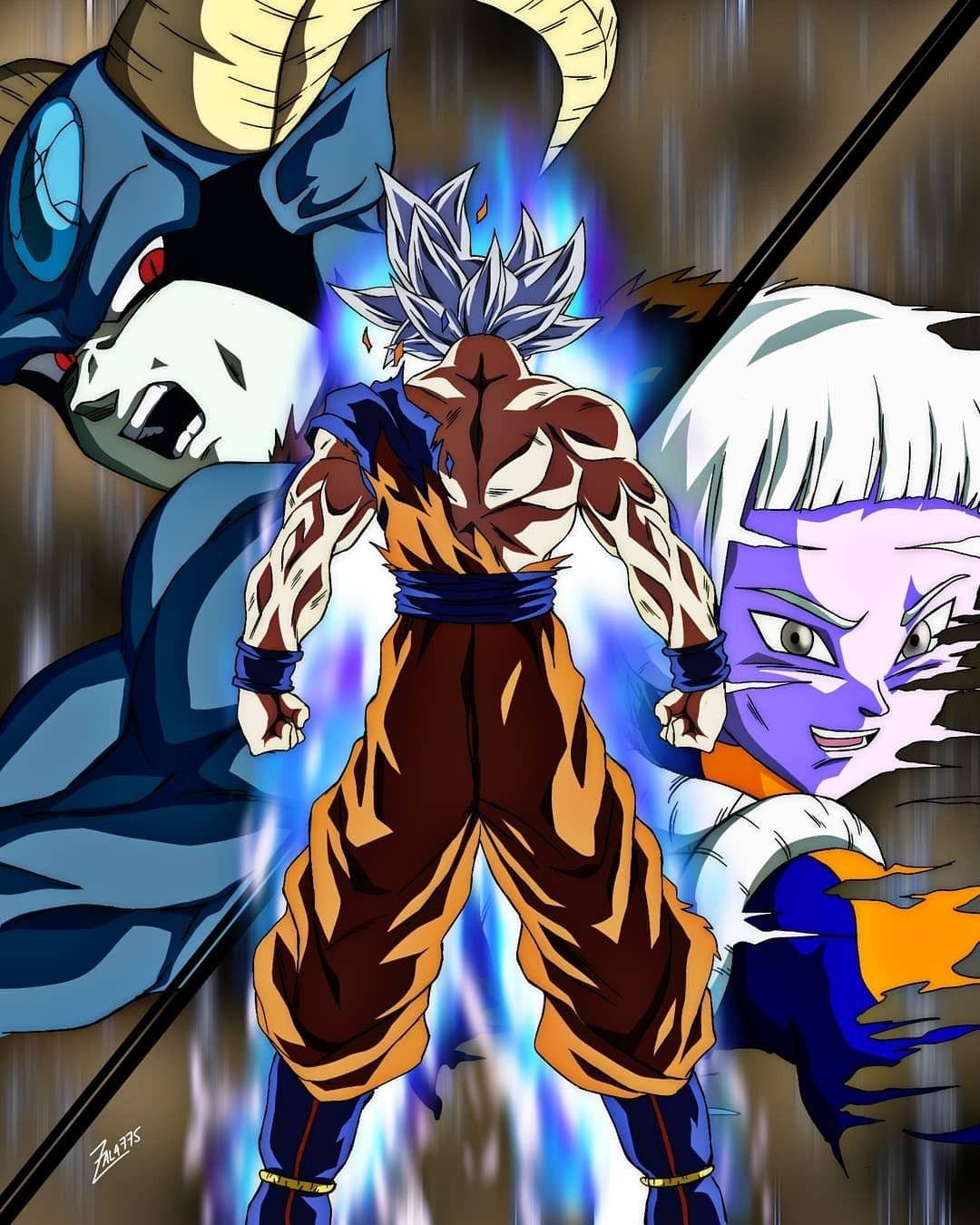 Ultra Instinct Vs Moro Dragon Ball Super Manga Anime Dragon Ball Super Dragon Ball Super Goku
