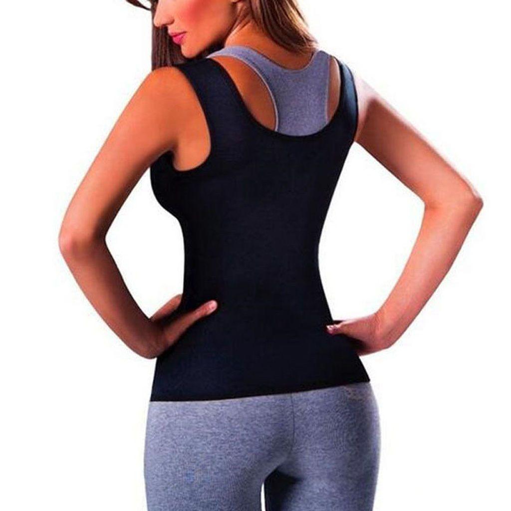 6b87854a99 Spencer Women s Body Shaper Tank Top Slimming Vest Tummy Fat Burner Waist  Trainer Cincher Shapewear