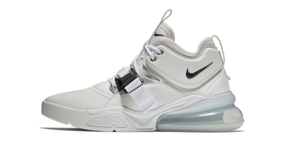 Chaussures et baskets homme Nike Air Force 270 White Black