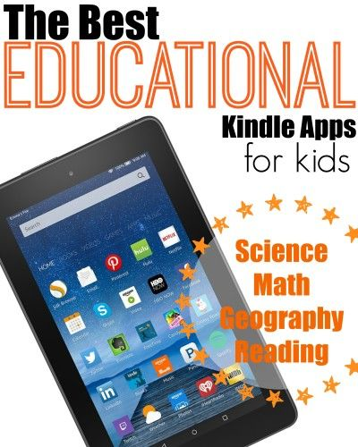 Best Educational Kindle Apps for Kids Kindle fire kids