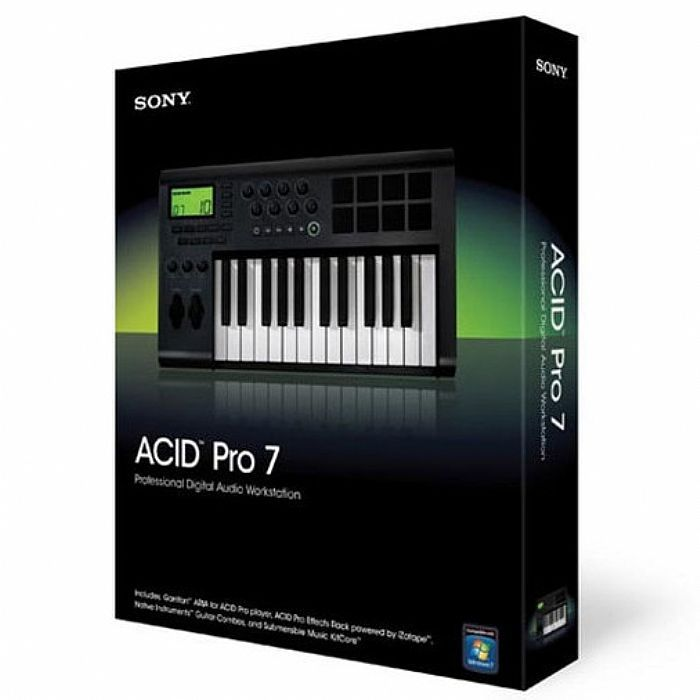 Sony Acid Pro 7 Free Download | Go AudiO