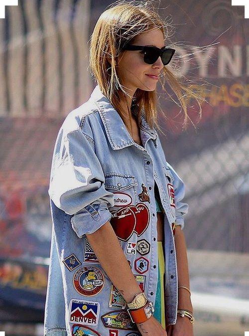 Imagen de denim, jacket, and labels